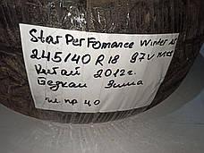 Б/у Зимняя шина Star Performer SPTS-AS R18 245/40 97V., фото 2
