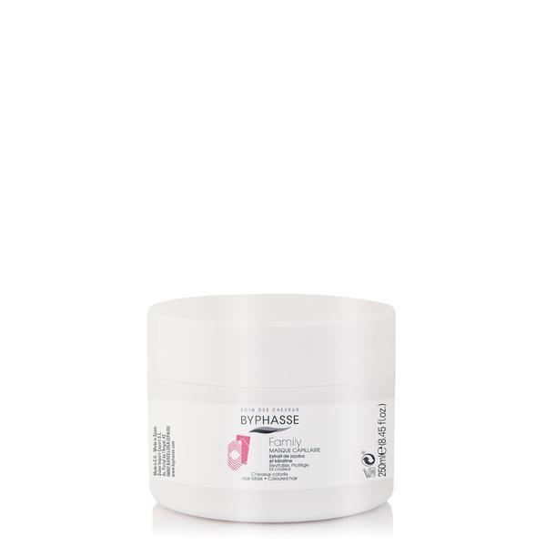 Byphasse Family Hair Mask Jojoba Extract And Keratin Маска для волос маска 250 мл