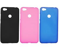 Чехол силиконовый полупрозрачный для Redmi Note 5A prime