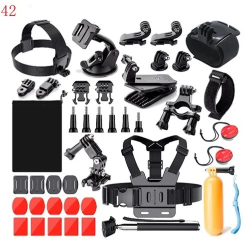 Набір кріплень для екшн камер 21 предмет