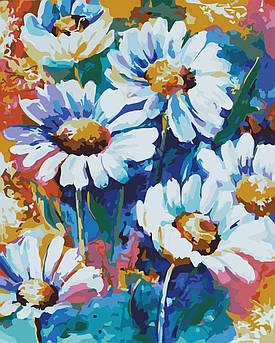 Картина за номерами ArtStory AS0641 Яскраві ромашки 40х50см арт сторі картини Квіти, фрукти, натюрморти, їжа