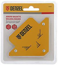 Магнитный фиксатор для сварочных работ, усилие 25 Lb (11 кг) Denzel 97551