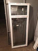 Готовое окно Glasso 7S 660 ширина, 1630 высота глухое