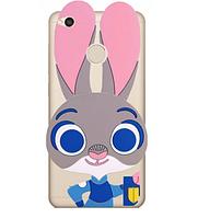 Чехол силиконовый Зверополис Rabbit для Redmi Note 5A prime
