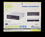Оптичний привід, дисковод, DVD-RW Plextor PX-810SA , Black, SATA, двд дисковод для комп'ютера, фото 3