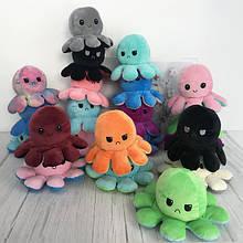 Мягкие игрушки осьминожки перевертыши