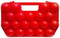Лоток для 20 яиц пластиковый, контейнер для яиц, кейс для яиц 2 десятка, тара (упаковка) для яиц