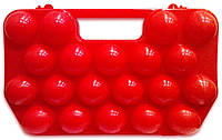 Лоток для 20 яиц пластиковый, контейнер для яиц, кейс для яиц 2 десятка, тара (упаковка) для яиц, фото 1