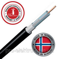 Одножильный отрезной нагревательный кабель для систем антиобледенения TXLP BLACK DRUM 0,09 Ом/м