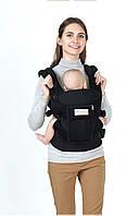 Эрго рюкзак, Сумка-кенгуру, рюкзак-переноска AiMama Черный