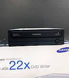 Оптичний привід, дисковод, DVD-RW Samsung SH-S222A , Black, P-ATA 22X DVD Writer, двд дисковод для комп'ютера, фото 4
