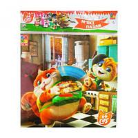"""Мягкие квадратные пазлы """"44 Cats. На кухні"""" (укр) VT1111-02"""