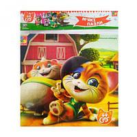 "Мягкие квадратные пазлы ""44 Cats. На ферме"" (укр) VT1111-05"