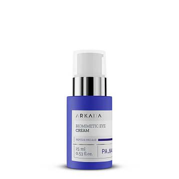 Биомиметический лифтингующий крем для кожи в области вокруг глаз Biomimetic Lift Up Eye Cream Arkana 15 мл
