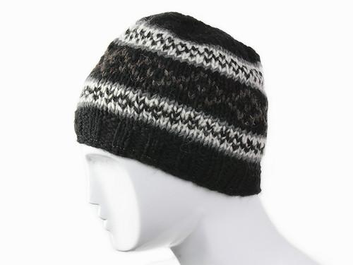 Вязанная шапка Узор Ручная вязка размер S