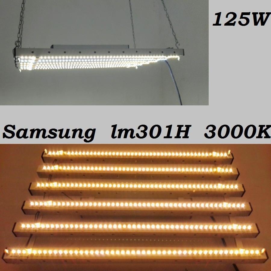Фитосветильник miniSunBoard 125вт, Samsung lm301H 3000K