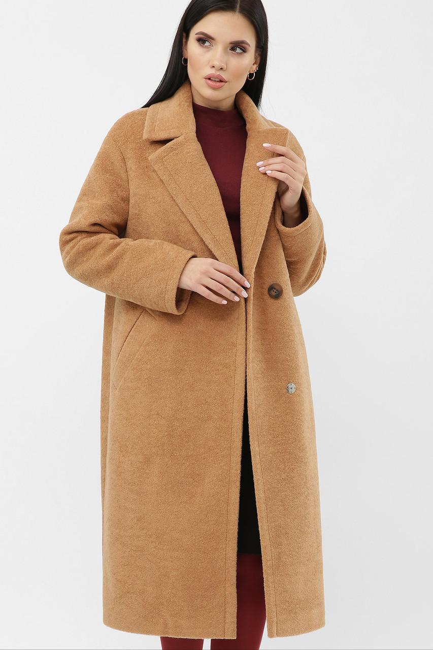 Женское зимнее пальто песочное MS-279-К Z