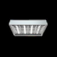 Встраиваемый растровый светильник для офиса ЛВО 4x18W ARS/R