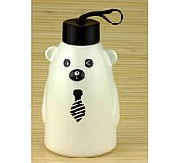 Термобутылка Gentle Bear белая ( бутылка медвежонок )