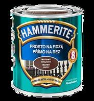 Hammerite c Матовым эффектом, Черная 2.5 л