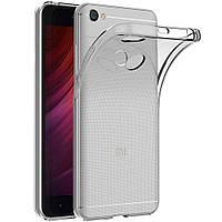 Чехол силиконовый для Redmi Note 5A prime прозрачный