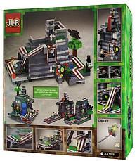 Конструктор JLB Minecraft Шахта 1117 деталей майнкрафт, фото 3