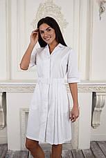 Жіночий медичний халат Ешлі - Халат для косметолога, фото 2