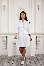 Жіночий медичний халат Ешлі - Халат для косметолога, фото 3
