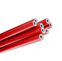 Трубная теплоизоляция EcoLine Red C-28 x 6 мм (красная)