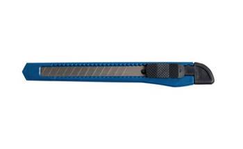 Нож канцелярский, JOBMAX, 9 мм, пластиковый корпус, BUROMAX(BM4635)