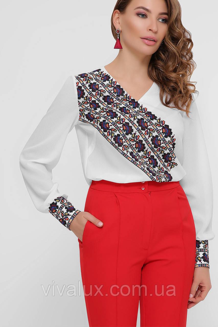 GLEM Вышивка блуза Верика д/р