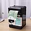Копилка Сейф для денег 6688-20А, черный и золотистый, фото 2