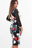 GLEM Пионы платье Карима д/р, фото 5