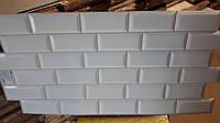 Декоративні листові панелі ПВХ ,для кухні,ванної,офісу,стелі,стін 485*960 Кабанчики перлинна