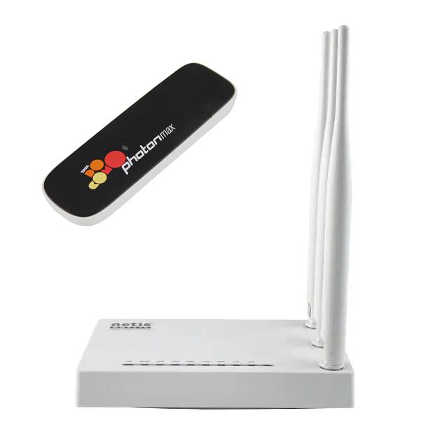 Комплект Интертелеком (3G CDMA модем Huawei EC306 Rev.B + Маршрутизатор Netis MW5230)