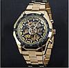 Мужские механические часы Winner Skeleton / Наручные часы, фото 5