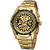Мужские механические часы Winner Skeleton / Наручные часы, фото 2