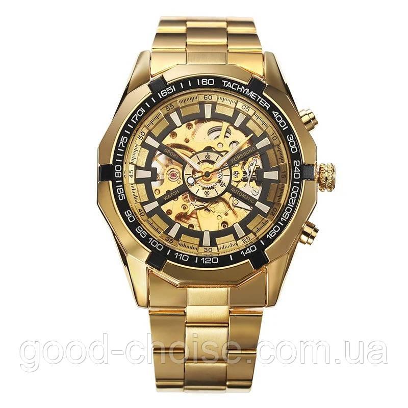 Мужские механические часы Winner Skeleton / Наручные часы