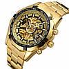 Мужские механические часы Winner Skeleton / Наручные часы, фото 3