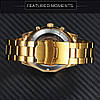 Мужские механические часы Winner Skeleton / Наручные часы, фото 9