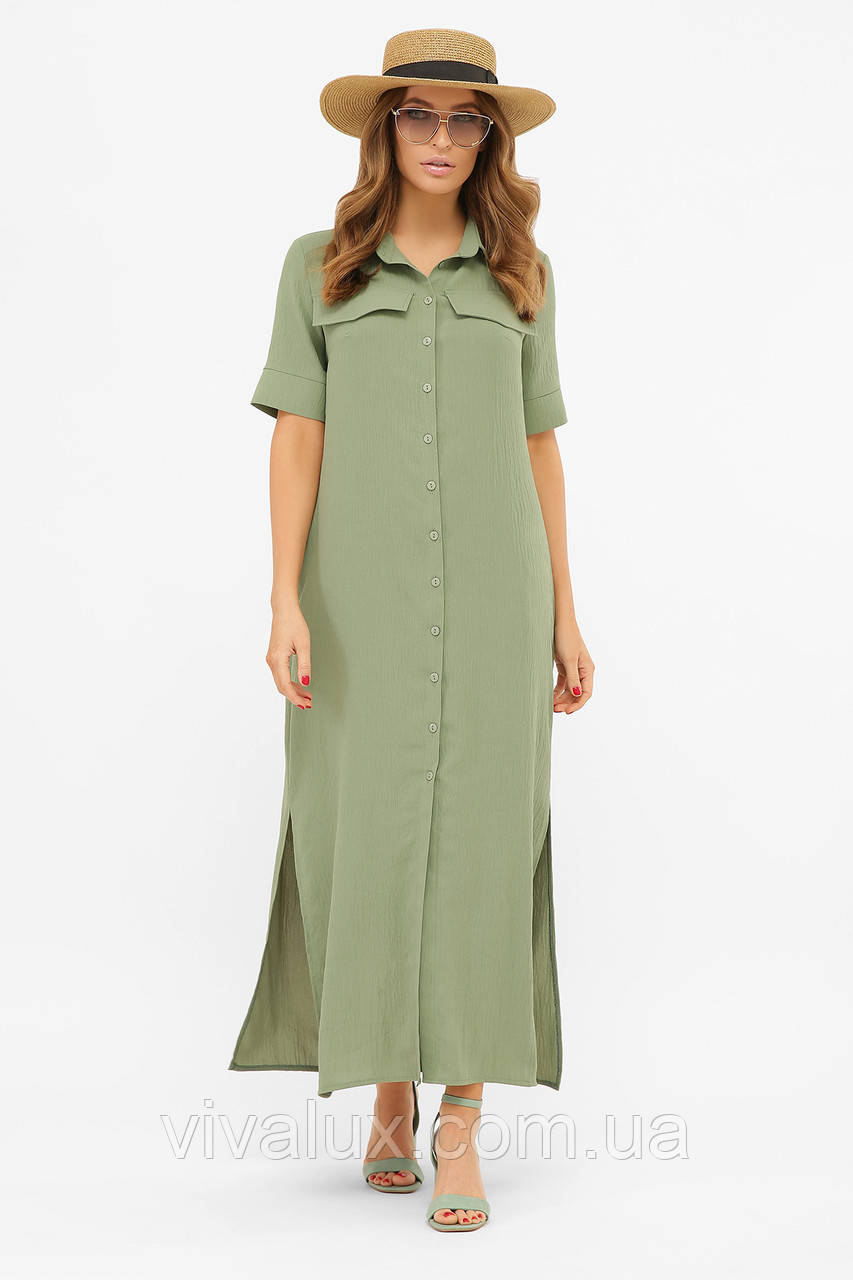 GLEM платье-рубашка Мелиса к/р