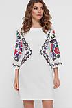 GLEM Цветочный орнамент платье Кирма д/р, фото 2