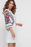 GLEM Цветочный орнамент платье Кирма д/р, фото 3