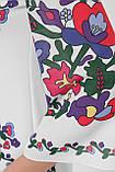 GLEM Цветочный орнамент платье Кирма д/р, фото 4