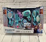 Набор парикмахера Frozen Фрозен световые и звуковые эффекты, в коробке 0808-28, фото 2