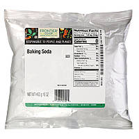 Пищевая сода для выпечки (453 г)  Frontier Natural Products