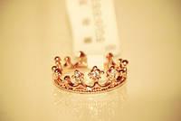 [ Кольцо Корона ] Женское кольцо в виде «Корона» 17,5