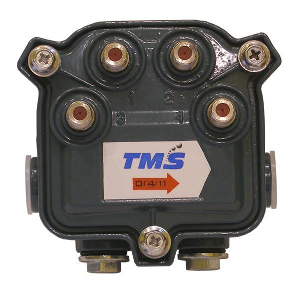"""4714-11 TMS (Субмагистральный ответвитель на четыре отвода по -11дБ) - ЧП фирма """"Мортелеком-сервис"""" в Одессе"""