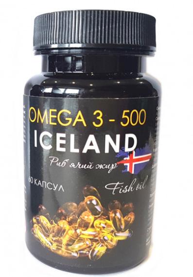 Омега 3 - 500 Рыбий жир, капсулы по 500 мг №60 Фелицата Украина 60 шт