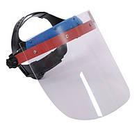 Маска для защиты лица и глаз от попадания искр или осколков металлов INTERTOOL SP-0030